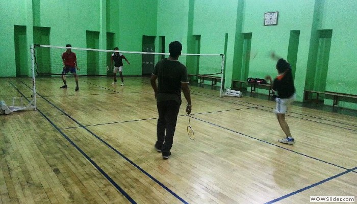 Badminton Hall